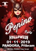 1.11.2019 - Pepino Halloween Party - PANDORA, Příbram