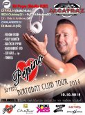 10.10.2014 - Pepino Birthday Club Tour 2014 - Alcatraz Disco Club, Michalovce