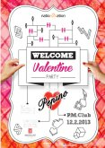 12.2.2013 - Welcome Valentine Party protected by Pepino - P.M.Club, Praha