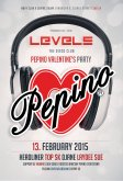 13.2.2015 - Pepino Valentine´s Party - Levels club, Žilina