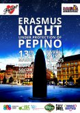 13.3.2014 - Erasmus Night under protection of Pepino - Fával music cirkus, Brno