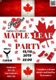 15.10.2019 - Pepino N2N Maple Leaf Party - Nebe bar, Praha