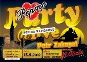 5.10.2012 - Pepino party a KISS rádio - Amfiteatr Tišnov