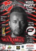 16.10.2015 - Pepino Kiss Party - Maximus disco club, Kapušany