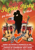 16.10.2017 - Latino Pepino Party - U-Klub, Olomouc