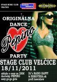 18.11.2011 - Origánální Pepino party - Stage club Velčice