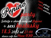 18.5.2012 - Pepino party - dance cafe bar Nove OKO - Ružomberok