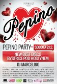 21.2.2015 - Pepino Party - New Best Disco, Bystřice pod Hostýnem