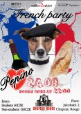 24.3.2015 - Pepino French Party - Chapeau Rouge, Praha