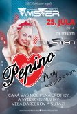 25.7.2014 - Pepino Party - Twister disco club, Moldava nad Bodvou