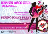 29.4.2011 Pepino Night Party - Neptun Disco Club Prešov