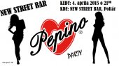 4.4.2015 - Pepino Party - New Street Bar, Poltár