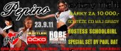 23.9.2011 - Pepino Extasy Night - HOBE music hall Pardubice