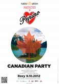 9.10.2012 - Pepino Canadian Party - club Roxy - Praha