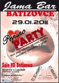 29.1.2011 Pepino party Jama Bar Batizovce