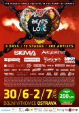 30.6.-2.7.2016 BEATS FOR LOVE A PEPINO DO TOHO JDOU SPOLU!